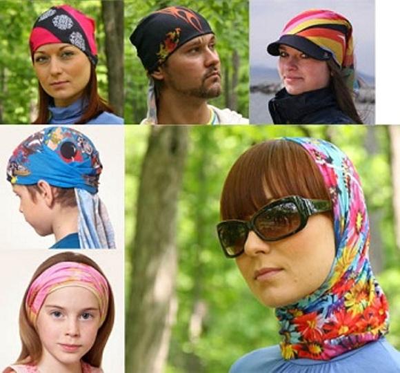 Повязка-шапка-шарф- многофункциональная баф - SECOND.BY