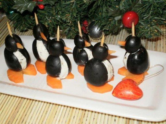 Новогодние закуски и салаты
