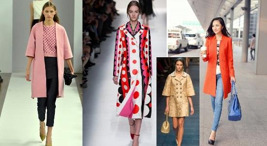 модные весенние пальто 2016